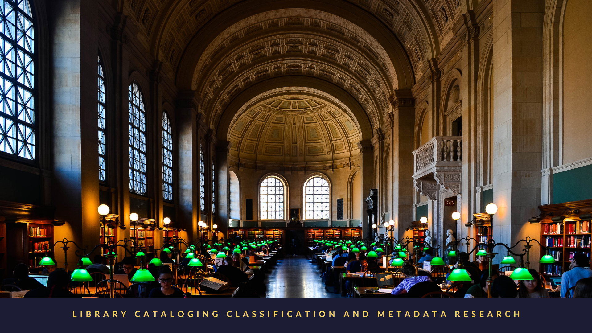 Library Cataloging, Classification, and Metadata Research: A Bibliography of Doctoral Dissertations