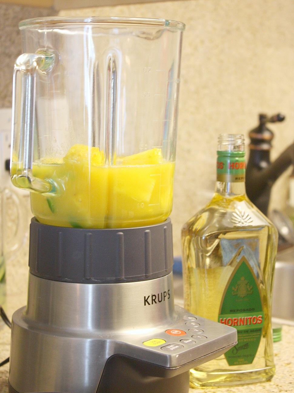 pineapple jalapeno margaritas