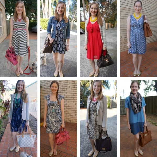 Marc by Marc Jacobs Mouse Flats with Dresses 8 ways to wear | away from the blue