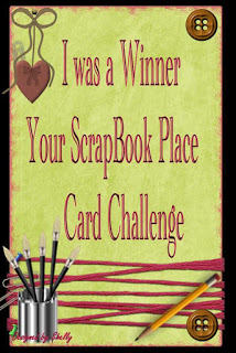 Winner at Your Scrapbook Place