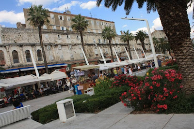 Riva and Diocletian Palace in Split