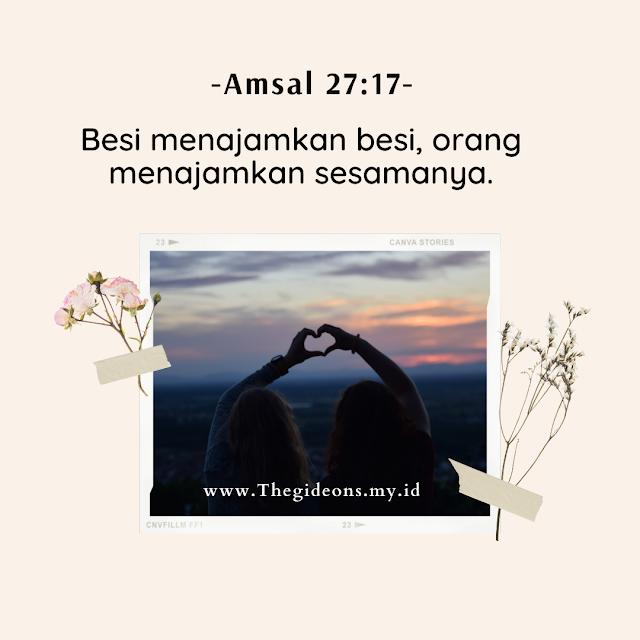 12 Ayat Alkitab yang berbicara tentang Persahabatan