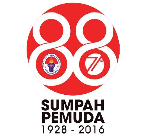 Logo Hari Sumpah Pemuda 2016