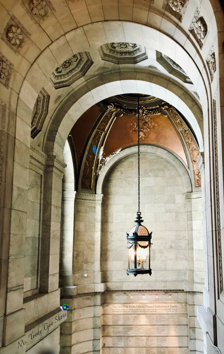 #14 of 20 pretty archways around the world; this one spotted in the New York City Library | Ms. Toody Goo Shoes