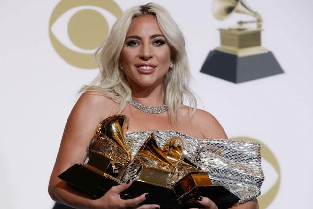 Lady Gaga é um dos grandes destaques do Grammy 2019