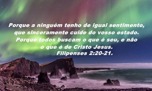 Resultado de imagem para Filipenses 2 21