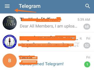 Telegram account kaise delete kare