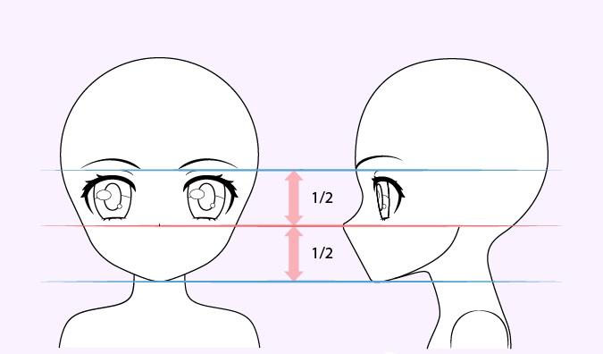 Gambar hidung gadis anime lucu