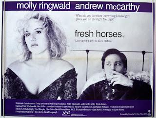 Cartel: Jóvenes ardientes (1988) Fresh Horses