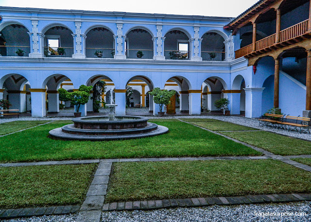 Pátio do Colégio dos Jesuítas de Antigua Guatemala
