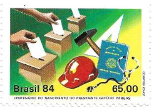 1984 - Brasil -  Urnas e o voto impresso