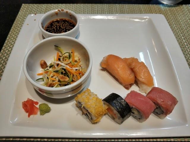 Sushi en el Restaurante Japones Kabuki