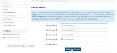 konfigurasi domain