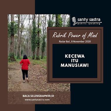 Rubrik Power of Mind Radar Bali : Kecewa Itu Manusiawi