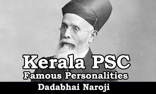Famous Personalities - Dadabhai Naroji (1825-1917)