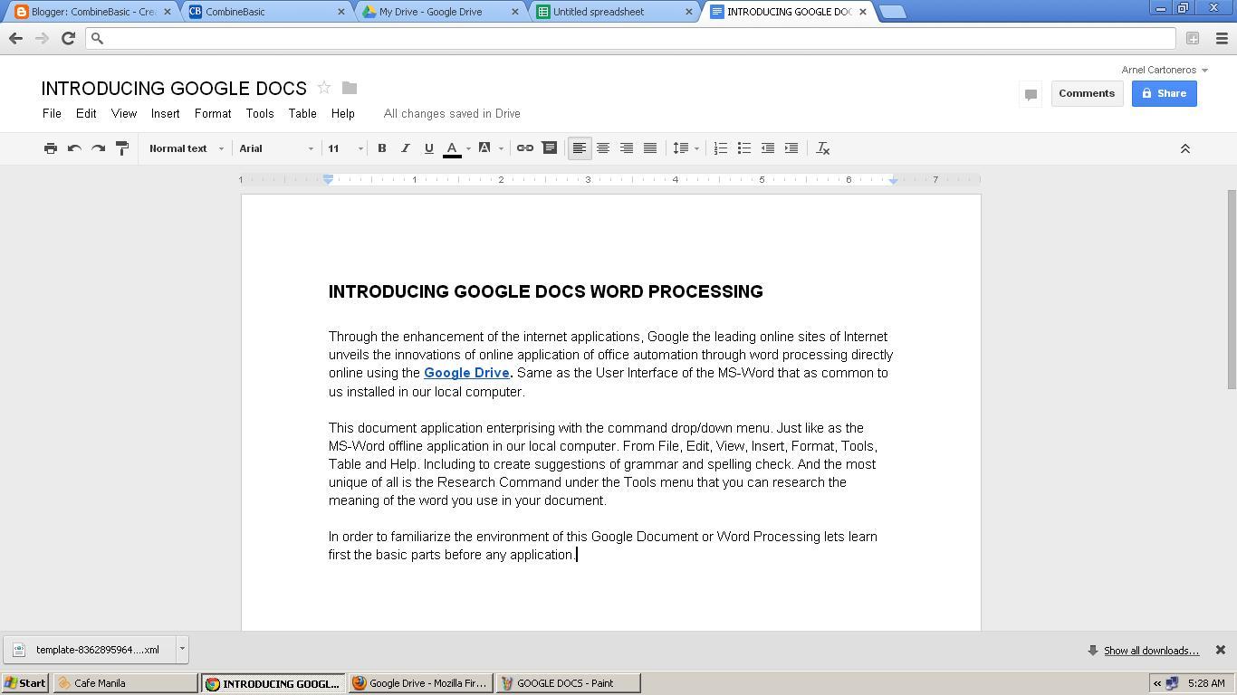 Free Resume Format  Google Docs Word  Resume Format