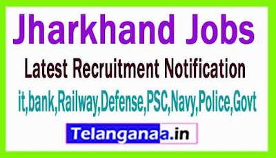 Latest Jharkhand Government Job Notifications