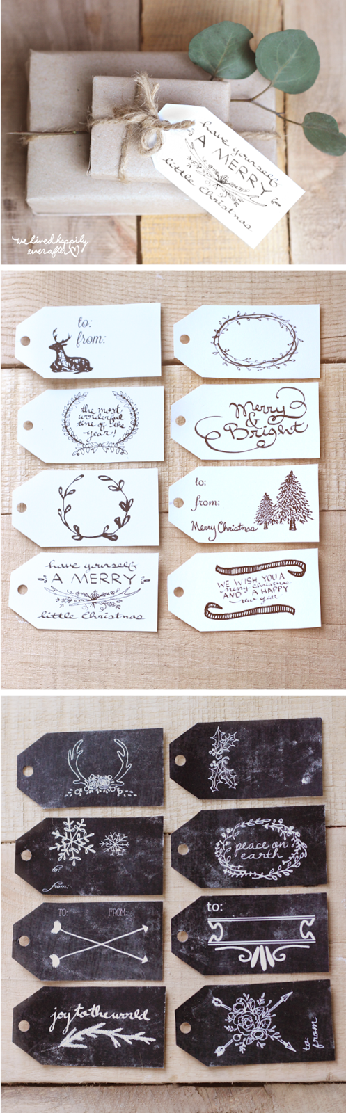 http://www.welivedhappilyeverafter.com/2014/11/free-christmas-gift-tag-printables.html