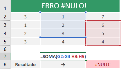 como-corrigir-erro-#NULO!-excel