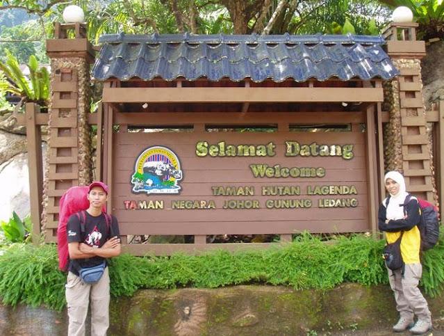 Taman Hutan Lagenda Gunung Ledang Johor