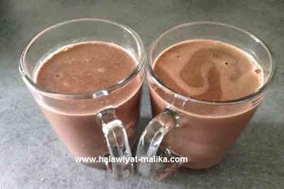 chocolat chaud مشروب شوكولاته ساخنه