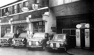 Quantock Motors, Devices Road, Swindon 1961