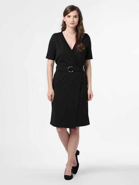 Sukienka Soyaconcept czarna na lato