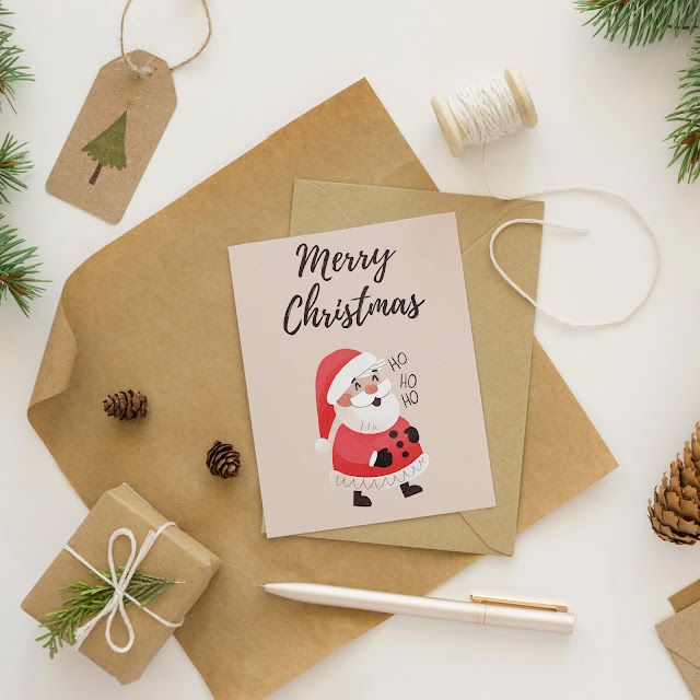 Free Christmas cards (downloadable)