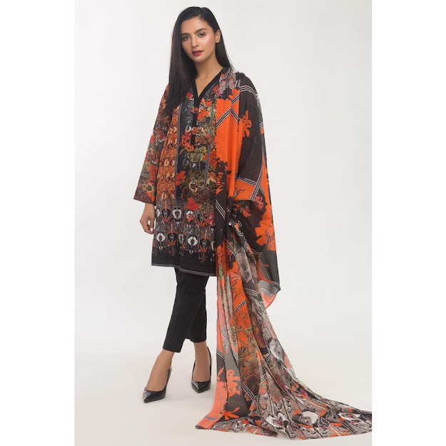 Gul Ahmed ready to wear printed suits