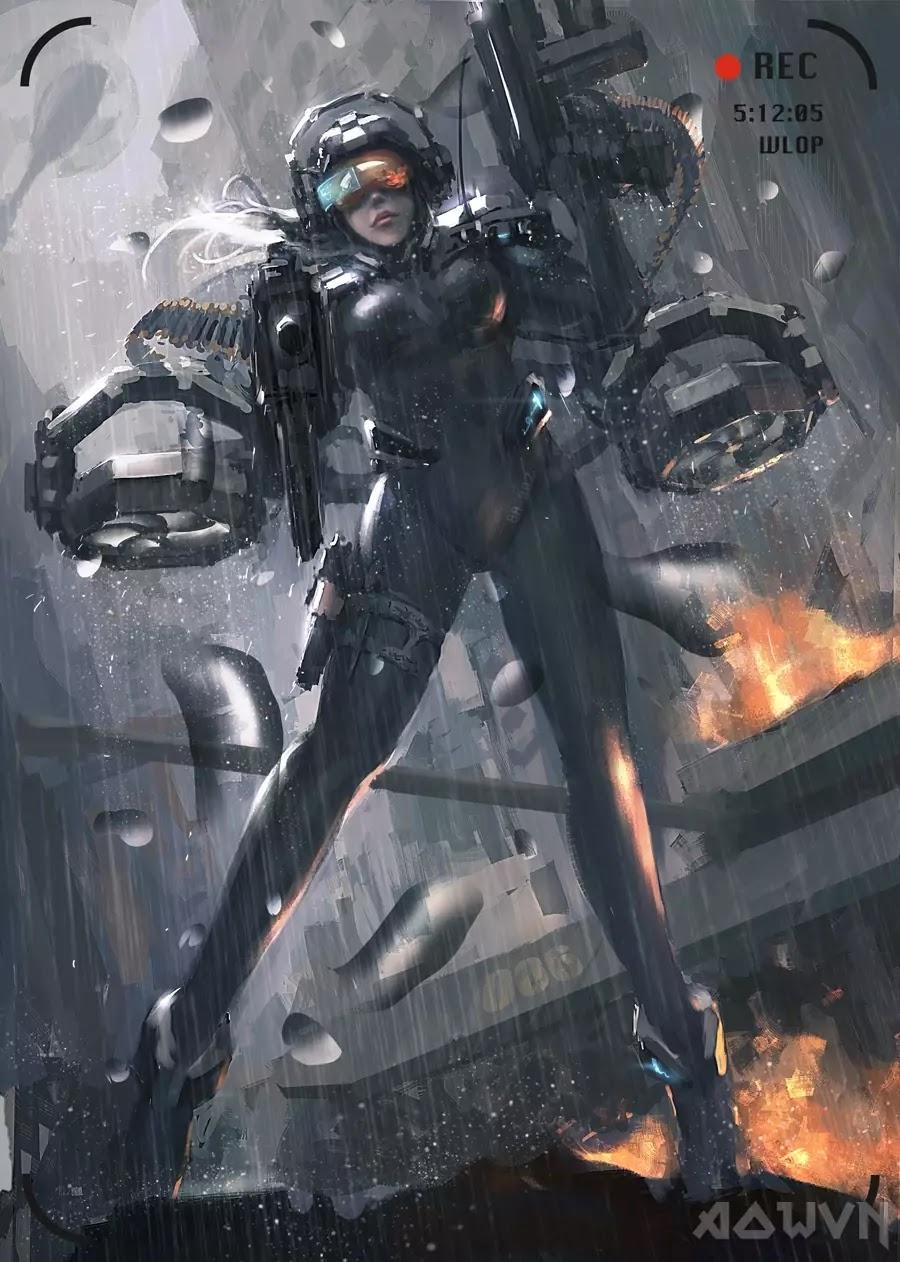 108 AowVN.org m - [ Hình Nền ] Anime Cực Đẹp by Wlop | Wallpaper Premium / Update