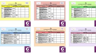 Semana 36 - Elementos para la Planeación - Aprende En Casa SEP - Aprendizajes Esperados