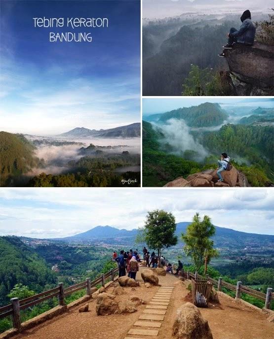 Eksostisme Natural Beauty of Tebing Keraton Bandung