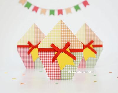 convite balão aniversário festa junina