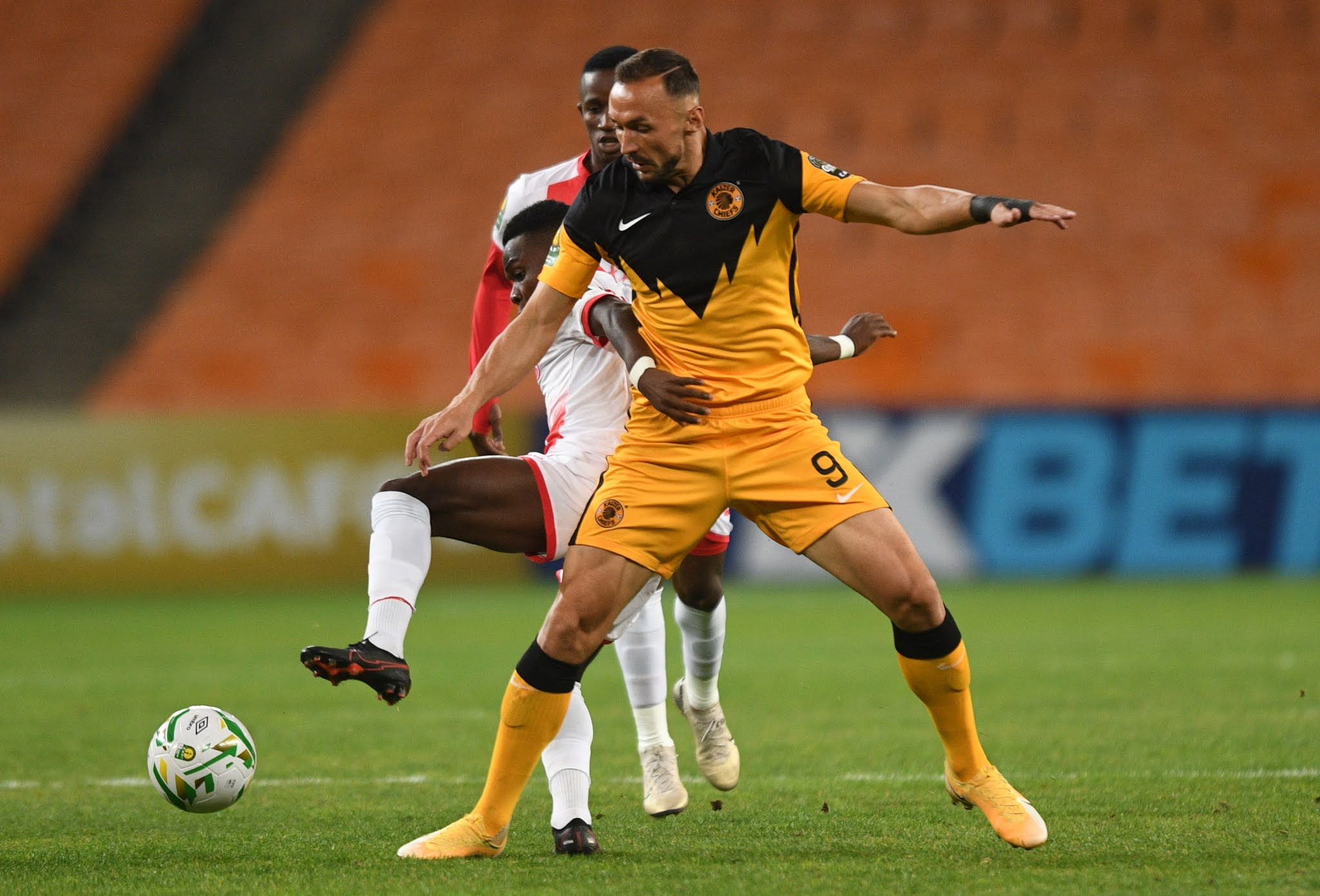 Amakhosi have one foot in the CAF Champions League final