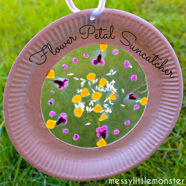 Flower Petal Suncatcher