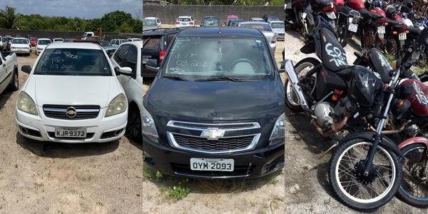 PRF realizará o primeiro leilão de 2021 de veículos retidos no RN com lotes em Mossoró, Natal e Caicó
