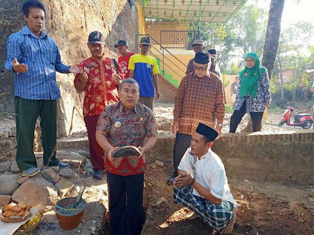 Peletakan Obyek Wisata Kusuma Jolo Tirto