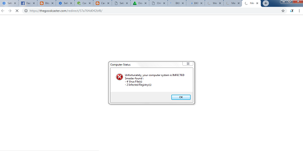 Cara Menghapus Virus Thegoodcaster.com dari Google Chrome 100% Work!!
