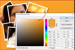 cara membuat kolase polaroid di photoshop