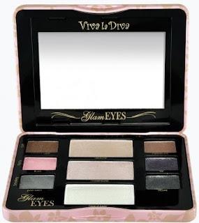 Paleta Glam Eyes de Viva La Diva