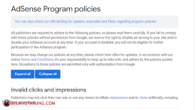 Youtube Adsense Program Policies