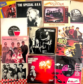 Rude Girl the beat avec Record Player Ska Specials 2 Tone rétro t shirt 317