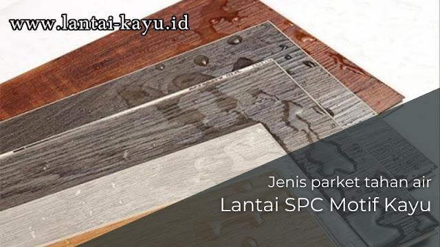 lantai spc motif kayu