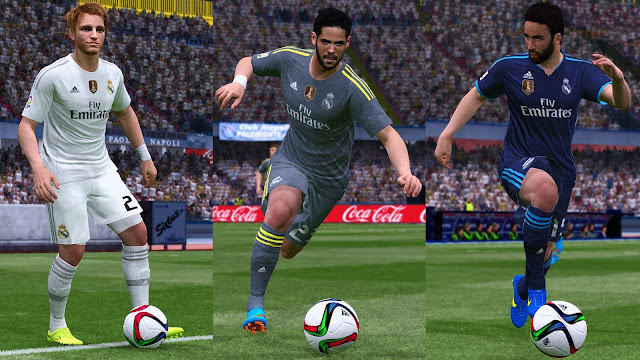 Kits Real Madrid 2015-2016 Update Logo WC + La Decima 10 Trophy