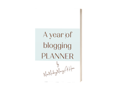 free blogging planner