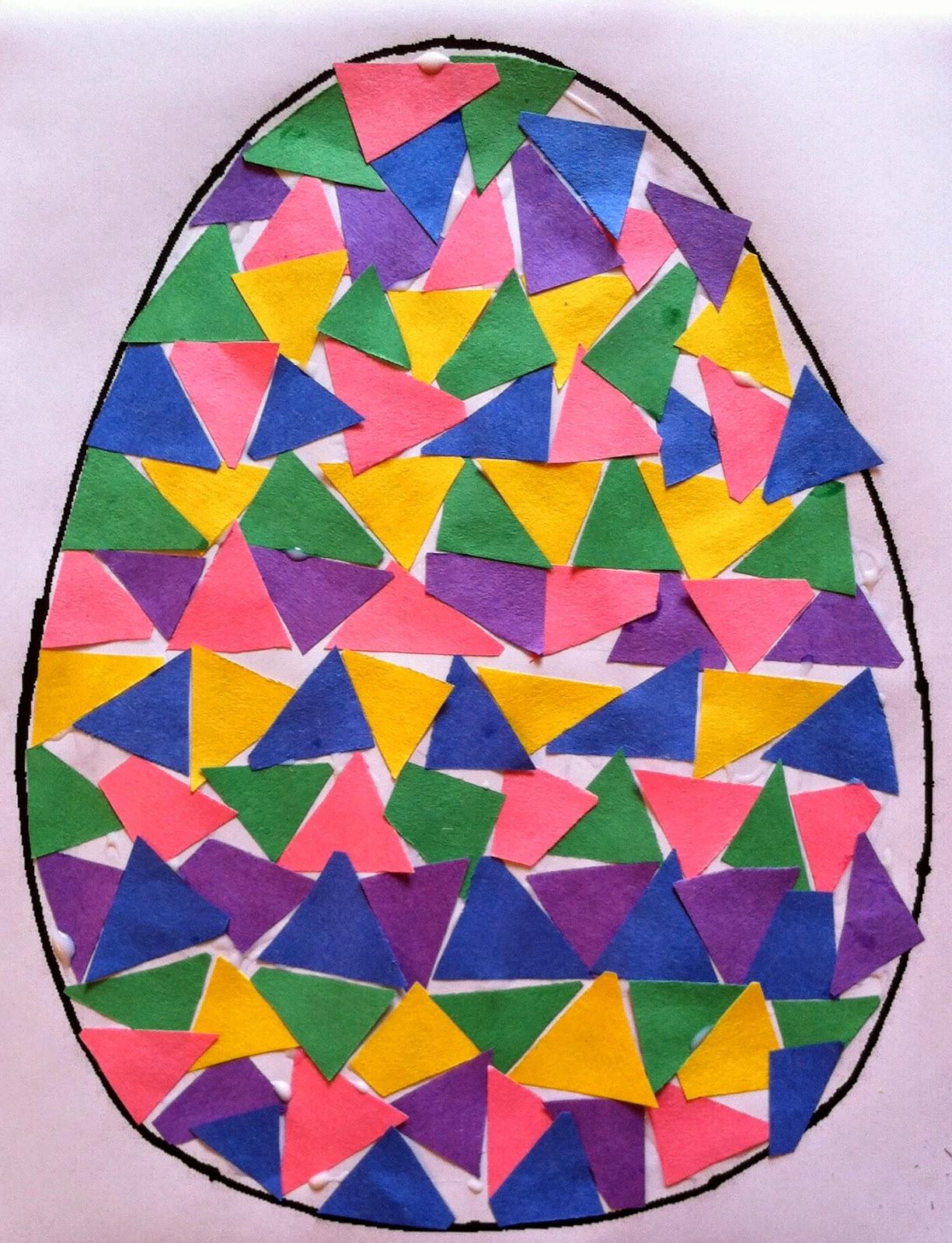 Mrs thompson 39 s treasures easter egg mosaic for Egg mosaic design