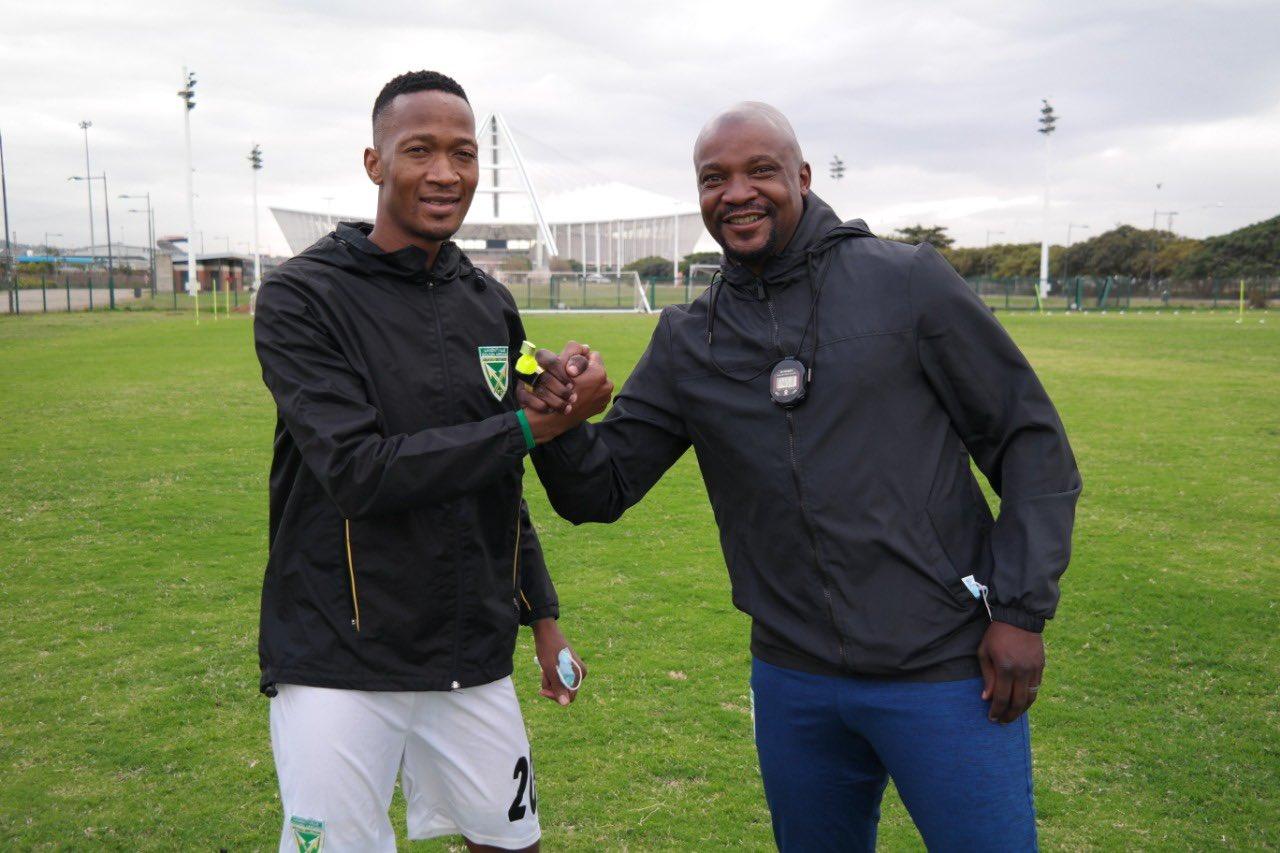 Golden Arrows head coach Lehlohonolo Seema