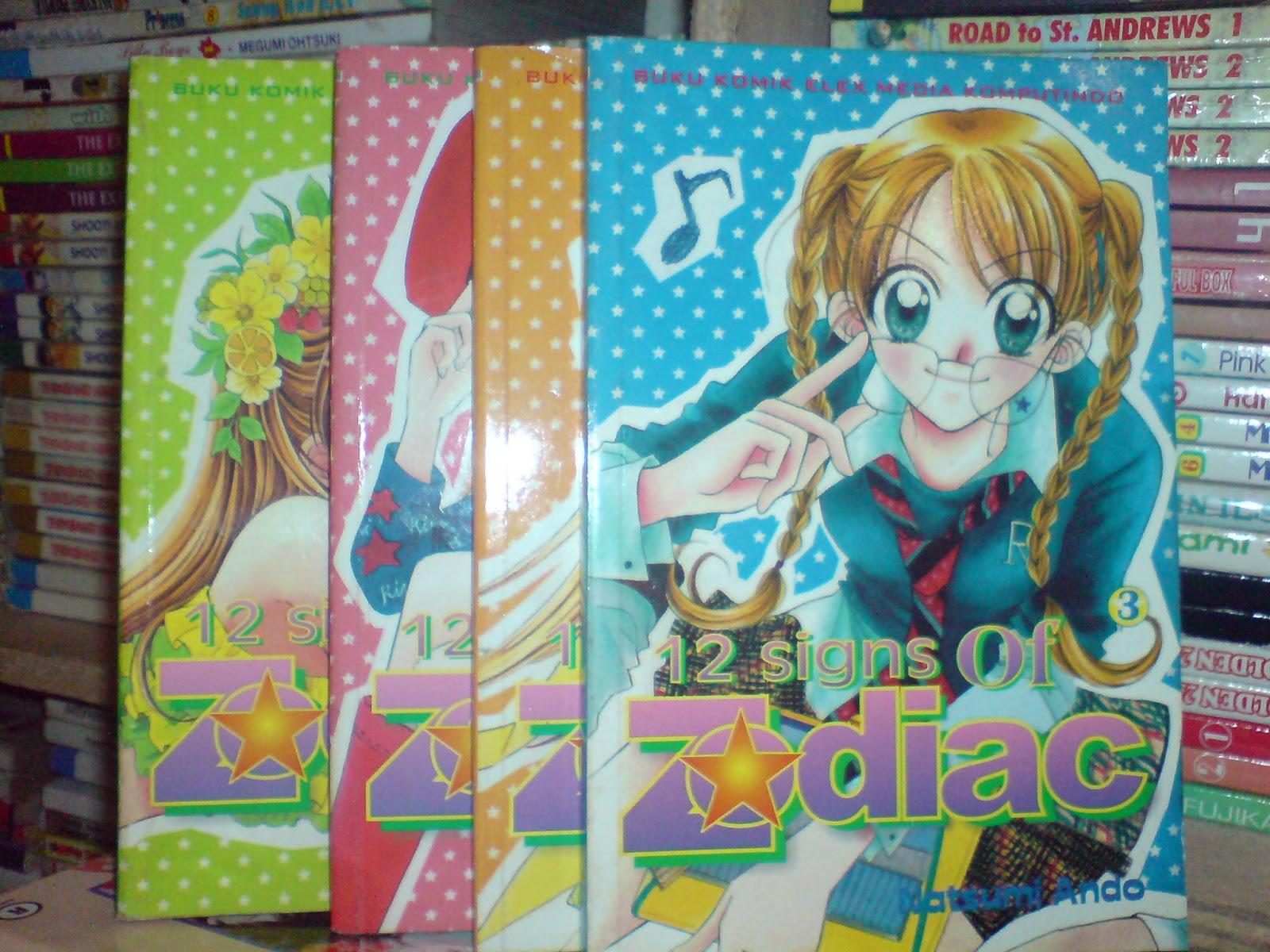 Komik Jepang Bekas Murah 12Signs Of Zodiac 1 4 Tamat