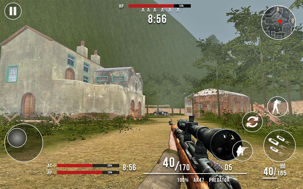American vs Japanese Sniper Hunter MOD APK terbaru