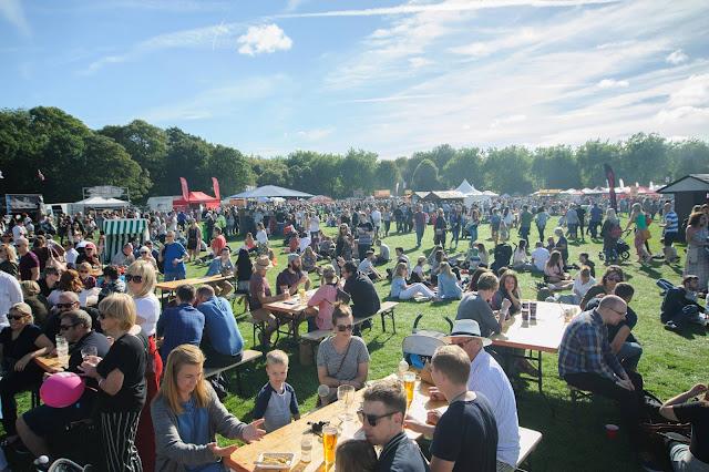Manchester Eats Festival Scenic Shot